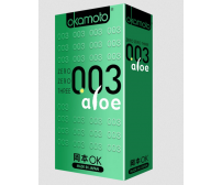 Okamoto-003 Aloe Condoms -10 Pieces