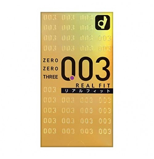 Okamoto-003 (0.03) Real Fit Condoms -10 Pieces