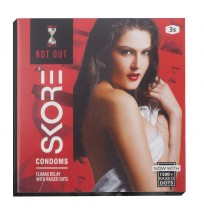 Skore Not Out  Condoms - 3's
